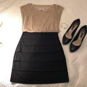 ❤️Gorgeous Gold/Black Dress ❤️